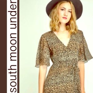 NWT South Moon Purrfect Sexy Leopard Maxi …